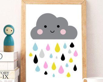 Nursery print Nursery wall art Cute art by DandelionCreativeCo