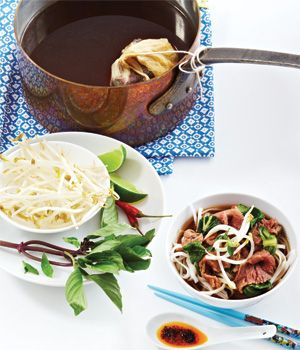 Easy Beef and Bok Choy Pho with Add-In Bar