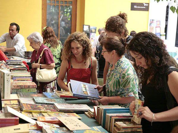Exhibición de libros