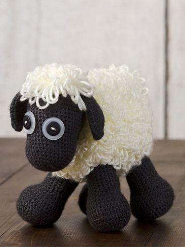 Free Crochet Sheep toy pattern