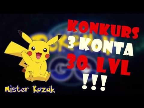 KONKURS POKEMON GO ( 3x30 LVL) !!!