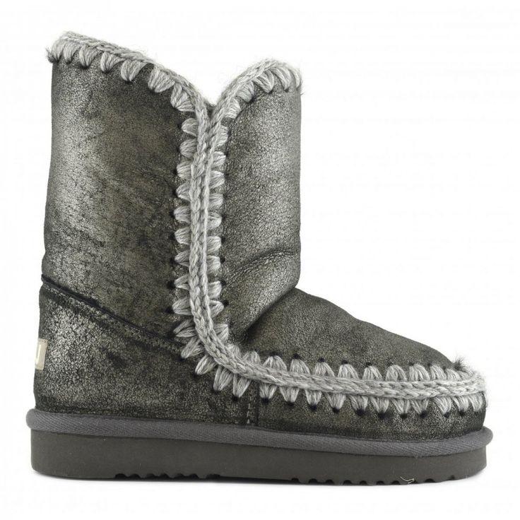 Boots Eskimo Franges CognacMou MM6u5OG