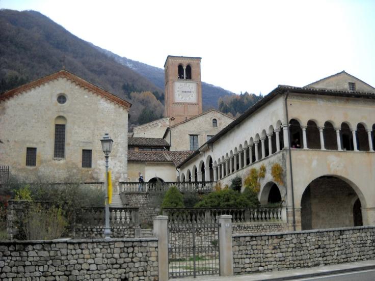 follina, abbazia