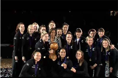 World Youth Netball Championship 2013 - New Zealand win gold #NZU21 #Champion #Gold
