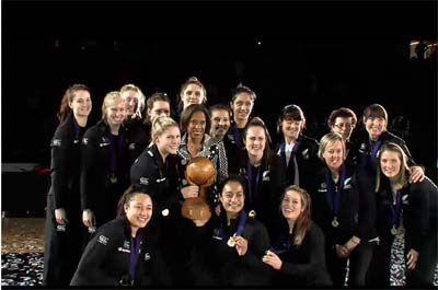 World Youth Netball Championship 2013 - New Zealand win gold #NZU21 #Champion #Gold
