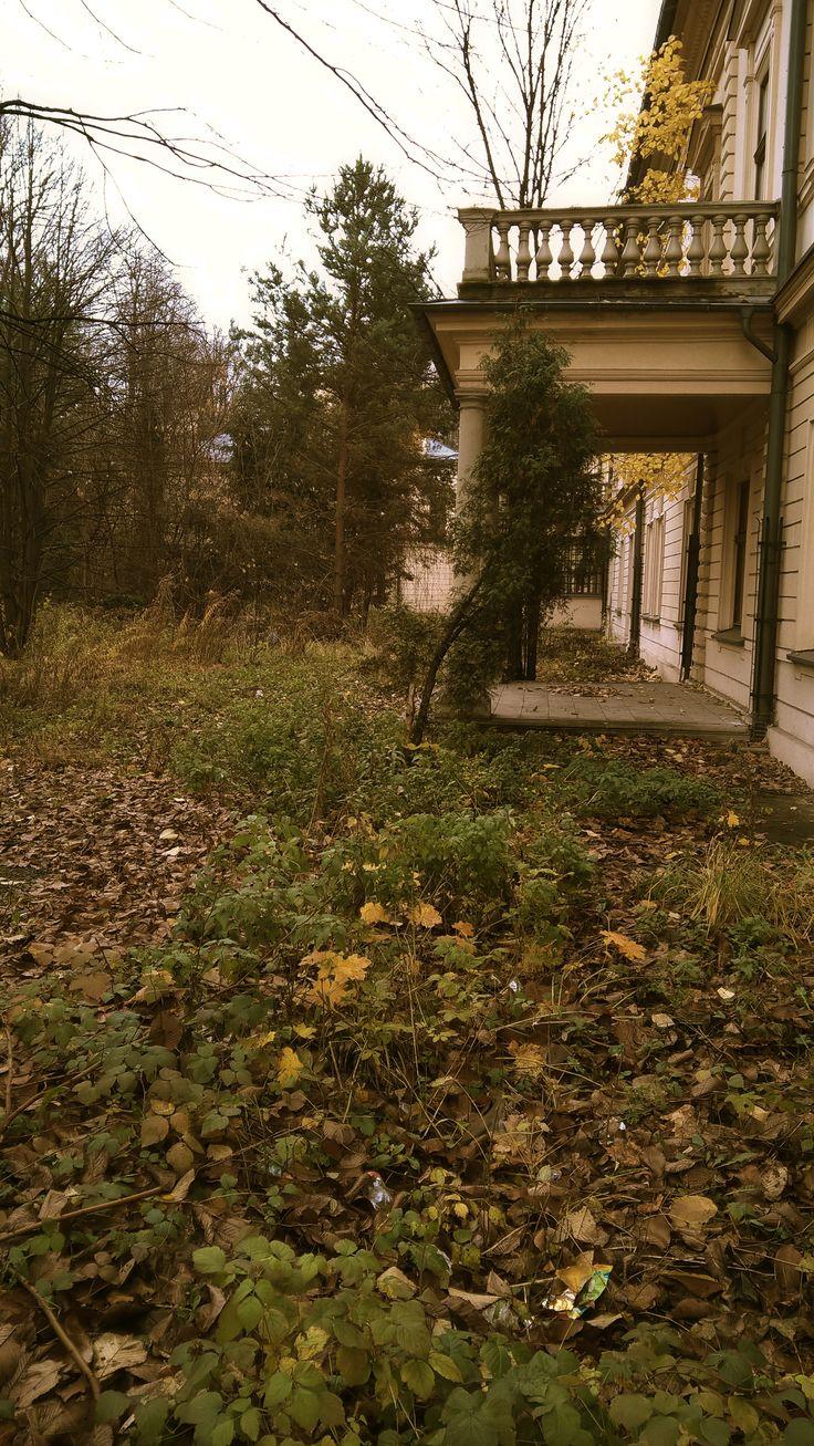 Abandoned garden, Habsburg, Żywiec, Poland