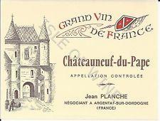 1960's Chateau-du-Pape