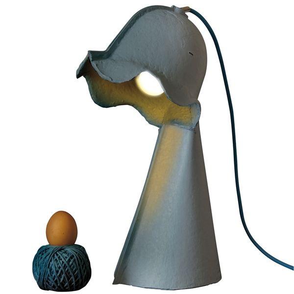 Egg Of Columbus Karton Masaüzeri Lamba - Mavi