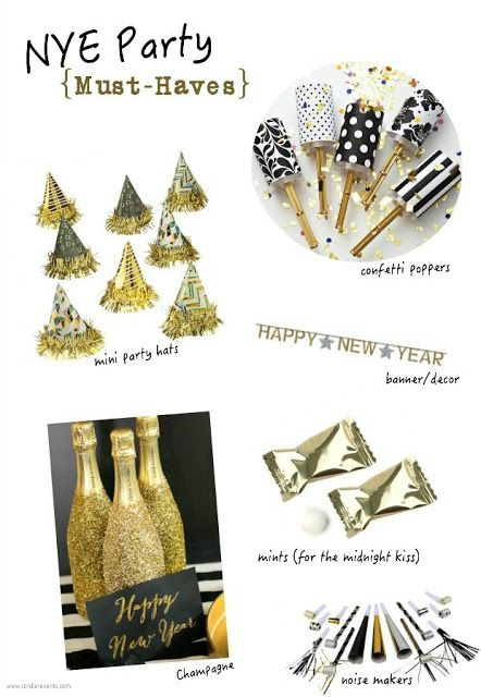 List of NYE Party Must Haves from Cordier Events (scheduled via http://www.tailwindapp.com?utm_source=pinterest&utm_medium=twpin&utm_content=post28916574&utm_campaign=scheduler_attribution)