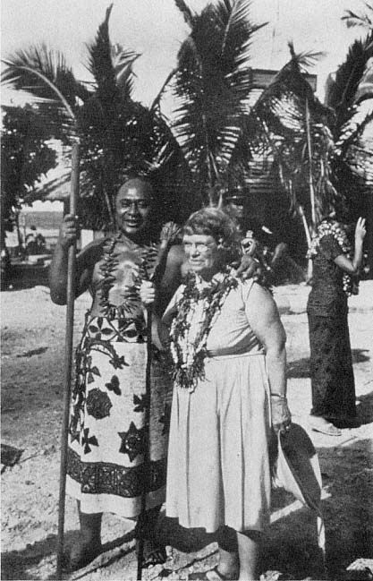 Margaret Mead In Samoa Faleasao Manu A With Talking Chief Meauta Atufili Mageo Of Pago Pago