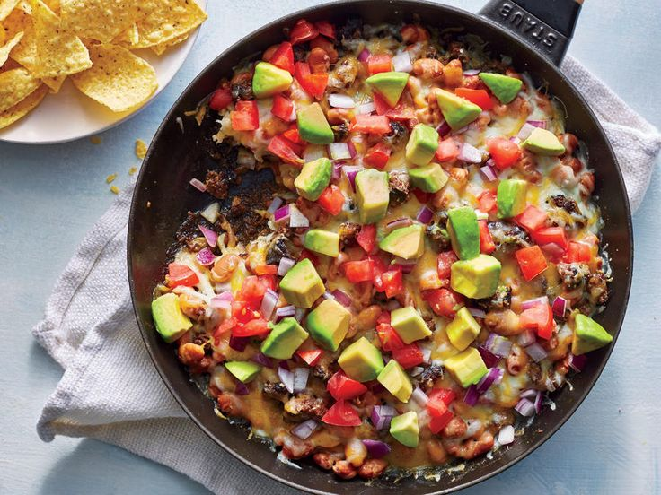 We took our favorite elements of cheesy queso dip and loaded beef nachos and combined the two into one epic skillet nacho dip, a one-pan ...