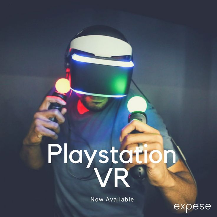 Don't just play video games this weekend, be part of one - with PS VR. Now available on Expese. Become a member today and experience the future of gaming.