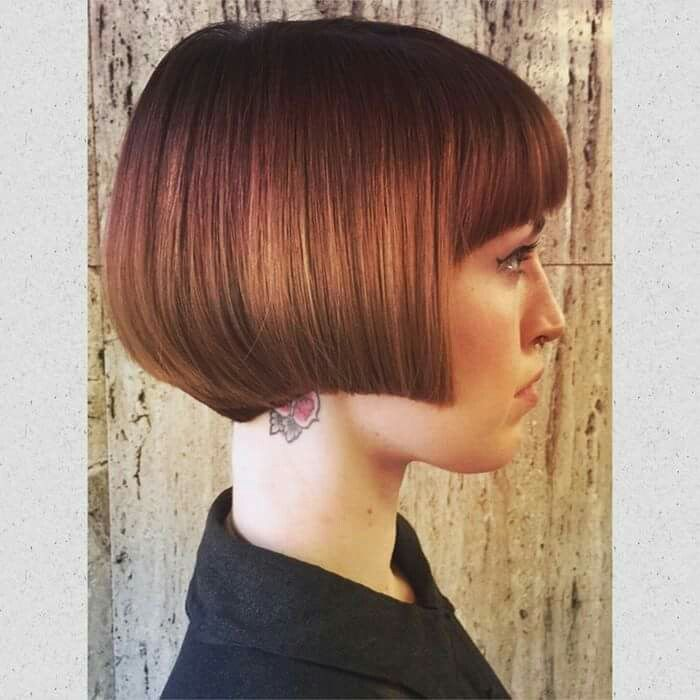 Perfect graduated bob from Clinton Norris