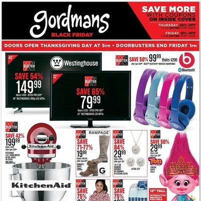 View the Gordmans Black Friday 2016 Ad with Gordmans deals and sales