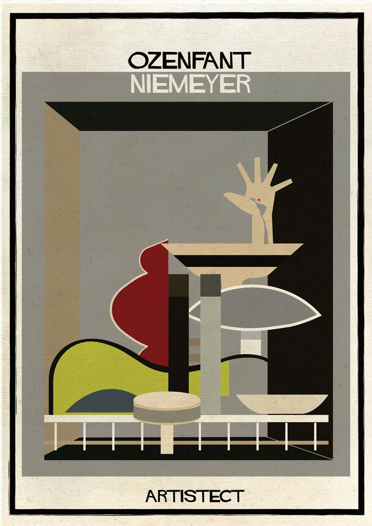 Galería - ARTISTECT: pinturas famosas con un toque arquitectónico - 181