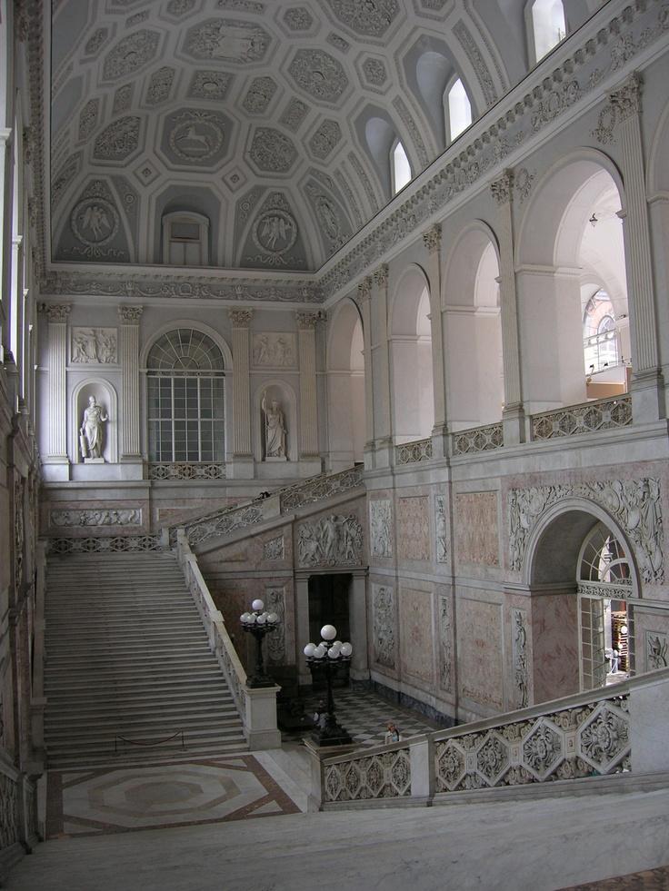 Royal Palace, Naples - Palazzo Reale, Napoli