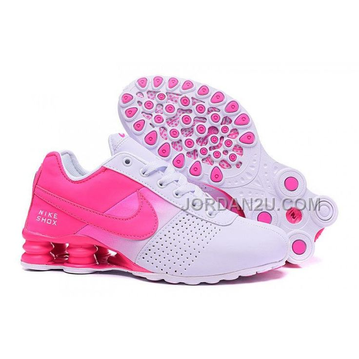 Women Nike Shox NZ Shoes White Pink Shoes