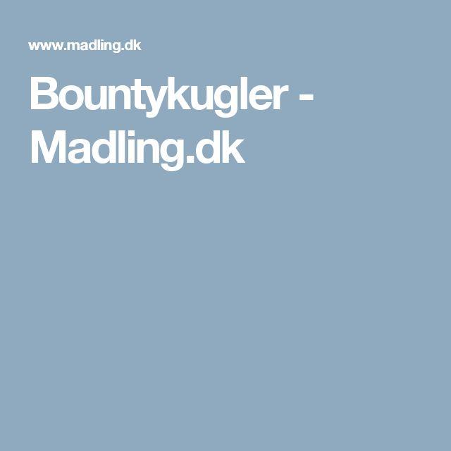 Bountykugler - Madling.dk