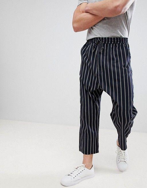 450fbfcd AlternateText Navy Stripes, Stripes Design, Skinny Chinos, Mens Sweatpants,  Tapered
