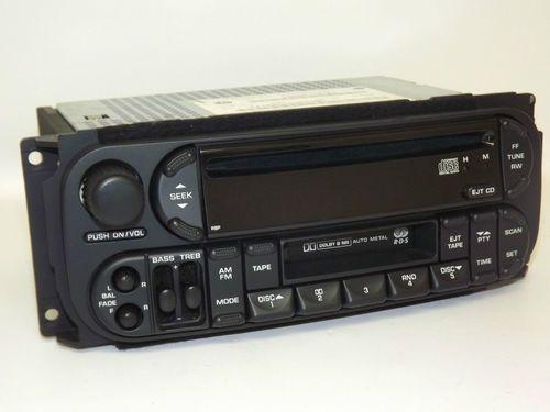 Dodge Chrysler Jeep 2002-2006 Radio - AM FM CD Cassette - P56038555AM - RBP