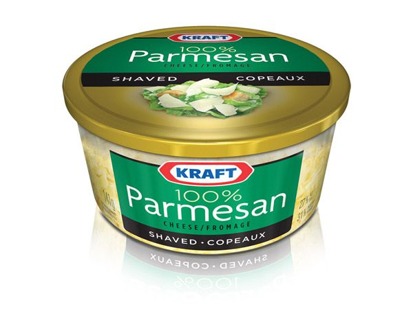 Kraft 100% Parmesan Cheese Tubs