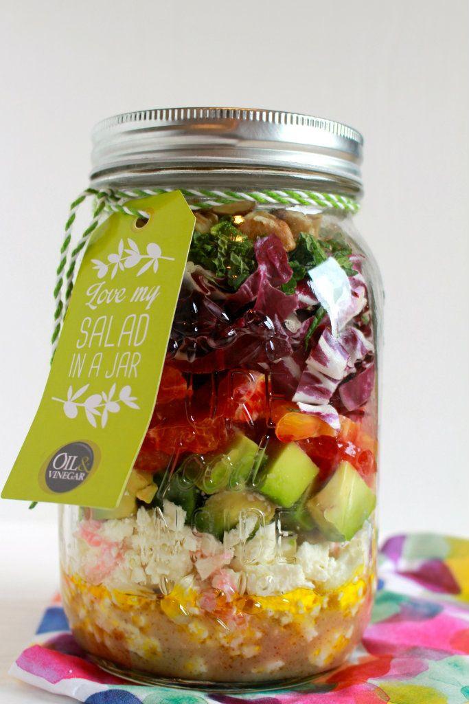 salade in een pot recepten