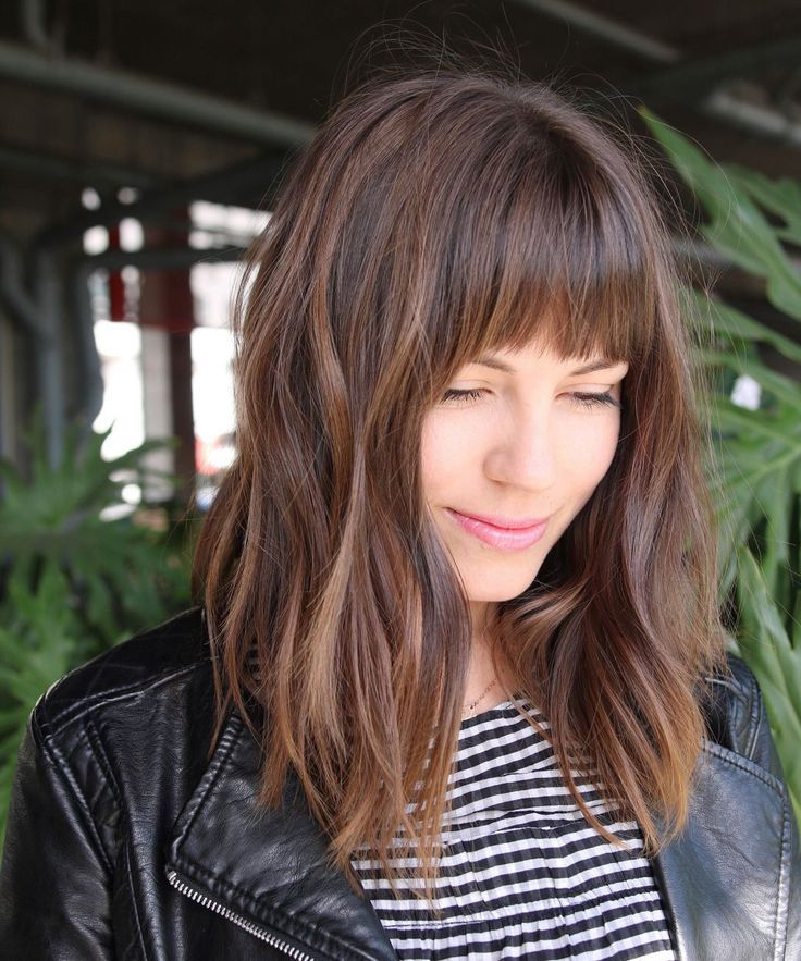 Image result for pinterest womens haircuts bangs 2018