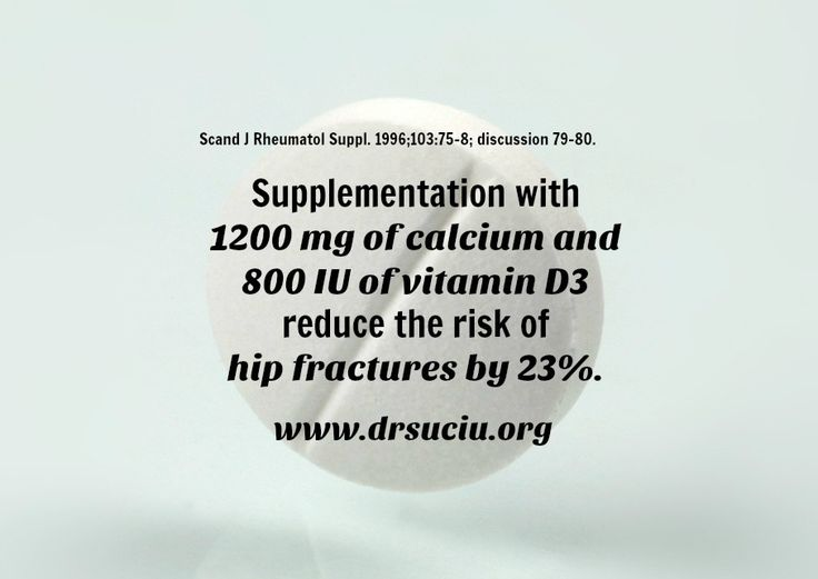 Picture drsuciu reducing the risk of fractures with calcium and vitamin D