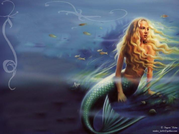 Blonde Mermaid 45