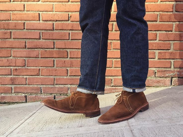 Mar.17.2016 Spring came three days early   Boots: @BrickMortarSeattle Snuff Unlined Chukka Jeans: Resolute 710   PC: @roymmarin by jeffdepano