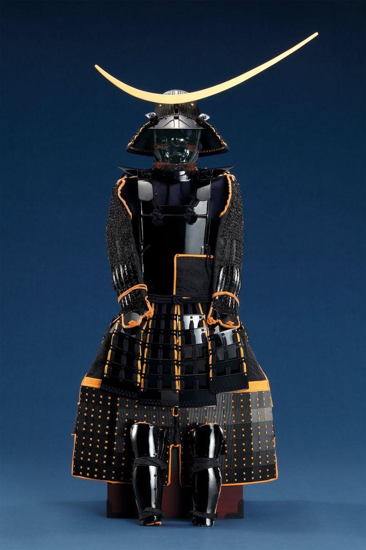 伊達政宗所用黒漆五枚胴具  :: Japanese Samurai Armor