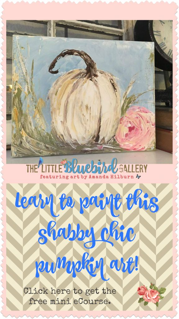 A Free Shabby Chic Pumpkin Tutorial for You