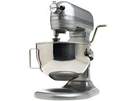 With 450 watts of power and a 5-quart bowl capacity KitchenAid's Professional 5 Plus stand mixer tackles big jobs. This factory-reconditioned machine prepa