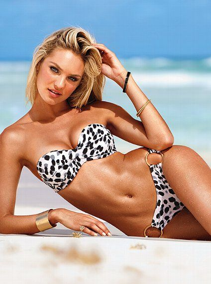 sexy sexyBathing Suits, Fashion, Candice Swanepoel, Swimsuits, Bandeau Tops, Victoria Secret, Bath Suits, Swimming Suits, Secret Swimwear