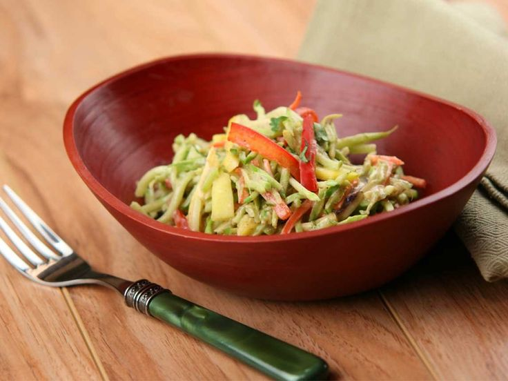 Did you know Silk® has a ton of tasty recipes, like  this one for Creamy Asian Slaw? http://silk.com/recipes/creamy-asian-slaw