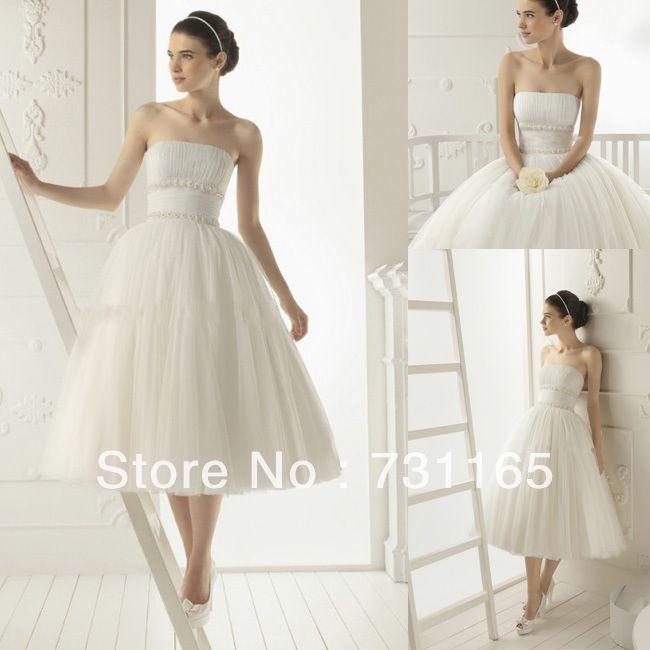 vestido de noiva impero corto avorio impero senza spalline in tulle plissettato abito da sposa corto da sposa