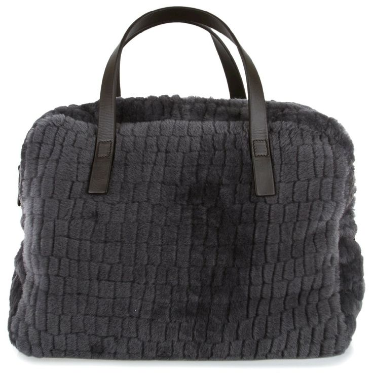 Hirshleifers - Brunello Cucinelli - Croc-Effect Shearling Tote (Charcoal), $2,630.00 (http://www.hirshleifers.com/brunello-cucinelli/women/handbags/brunello-cucinelli-croc-effect-shearling-tote-charcoal/)