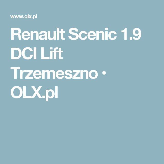 Renault Scenic 1.9 DCI Lift Trzemeszno • OLX.pl