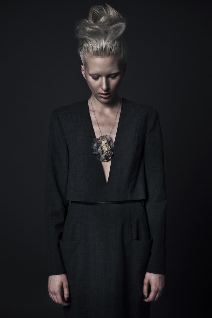 editorial @ REVS magazine | photo: Daniel Jaroszek / styling: Asia Wysoczyńska  *dress: Ola Kawałko   *jewelry: Klara Kostrzewska