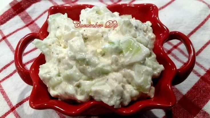 ~ Awesome Cucumber Dip ~ #easy #cream-cheese #vegetables #cucumber #Dip #Appetizer #crackers #justapinchrecipes