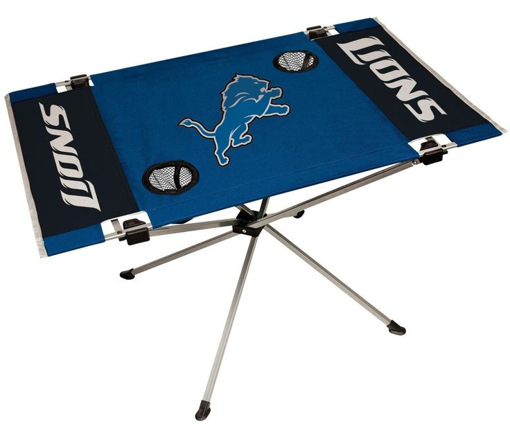 Lions NFL Table Endzone Style Table - Rawlings