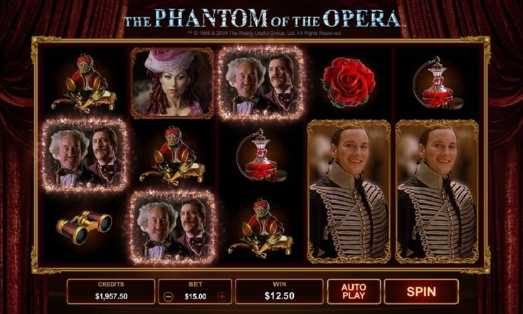 Play the The Phantom of the Opera slot machine and many other most popular online casino games now. #ThePhantomoftheOpera #slotmachine