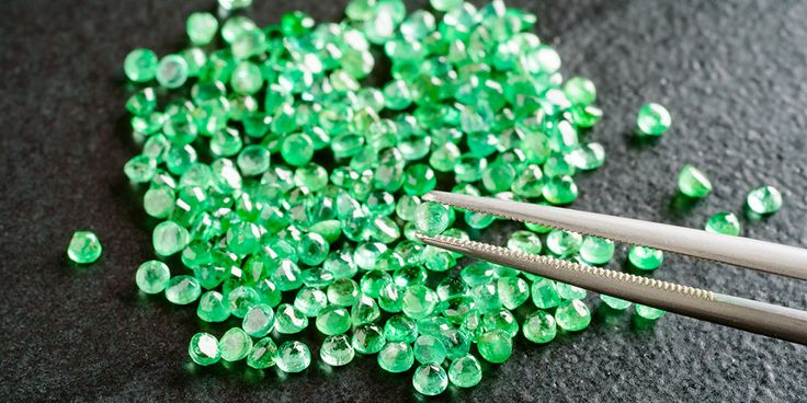 Nearly 90% of all the emeralds in the world come from Colombia
