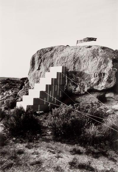 Metafore, Disegno di una scala per entrare in una casa molto ricca, 1974