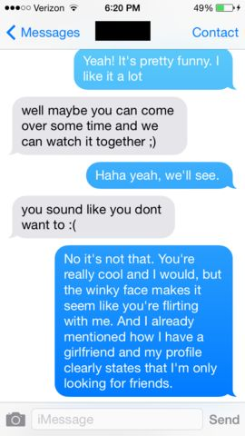 How to flirt with him over text