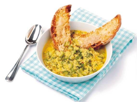 Zuppa di zucchine all'uovo - Piattoforte