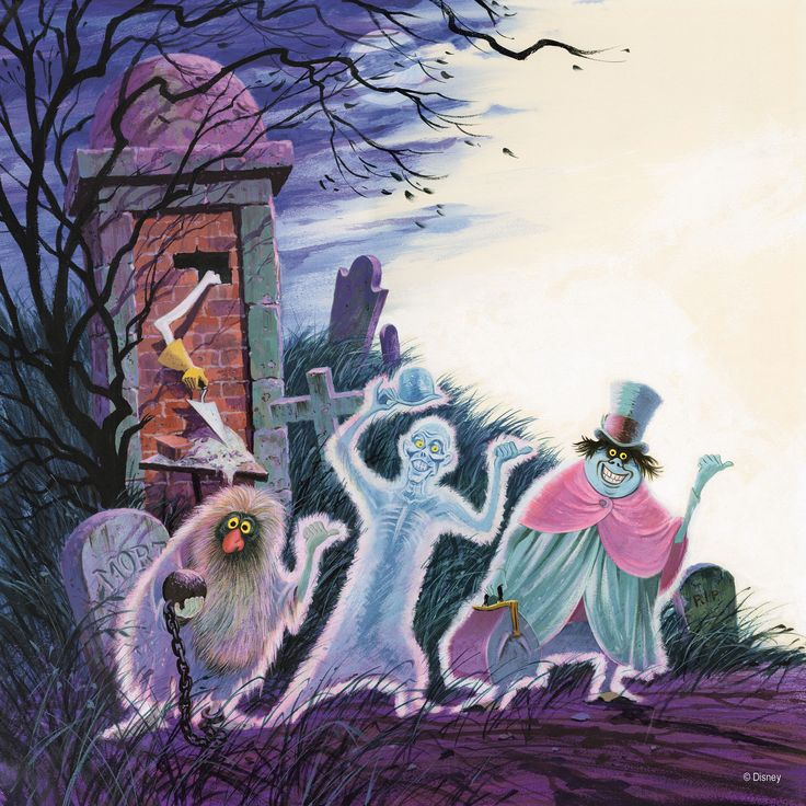 Hitchhiking ghosts Disney haunted mansion, Haunted