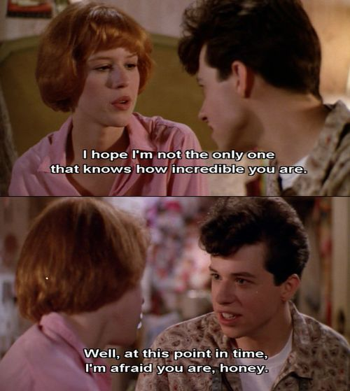 pretty in pink movie quotes - Google Search