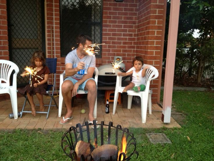 Family - peace in the backyard