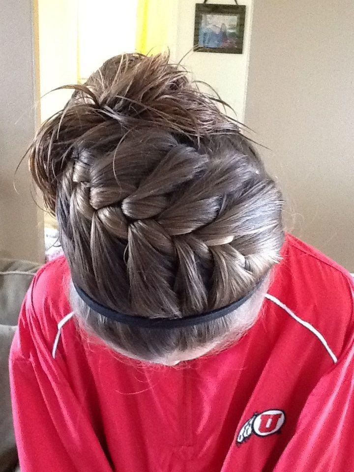 volleyball hair ideas